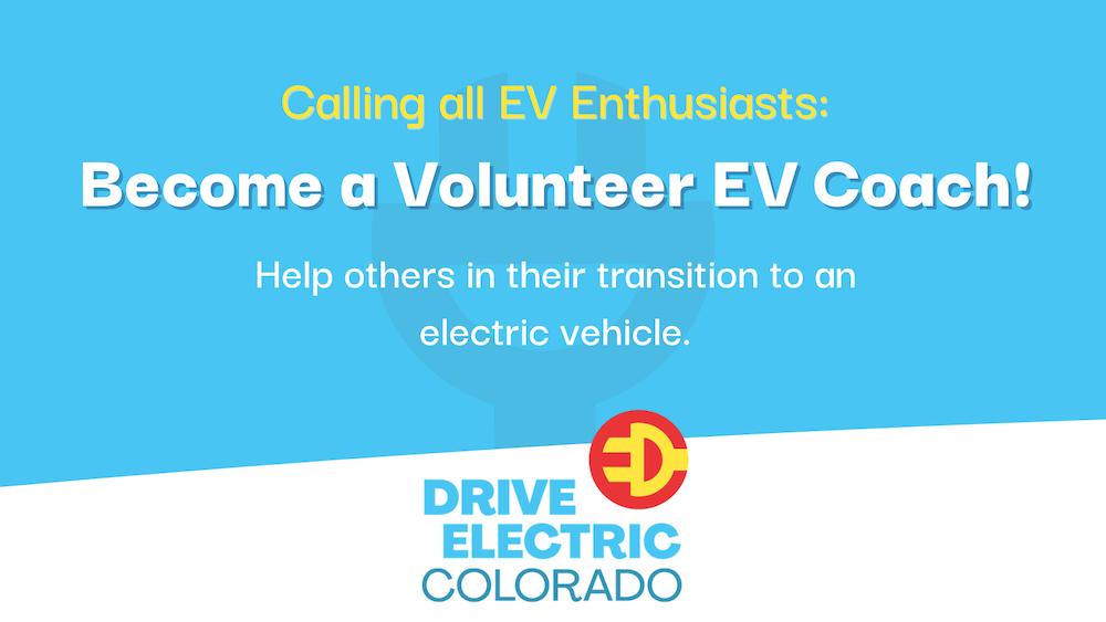 Become a Volunteer EV Coach
