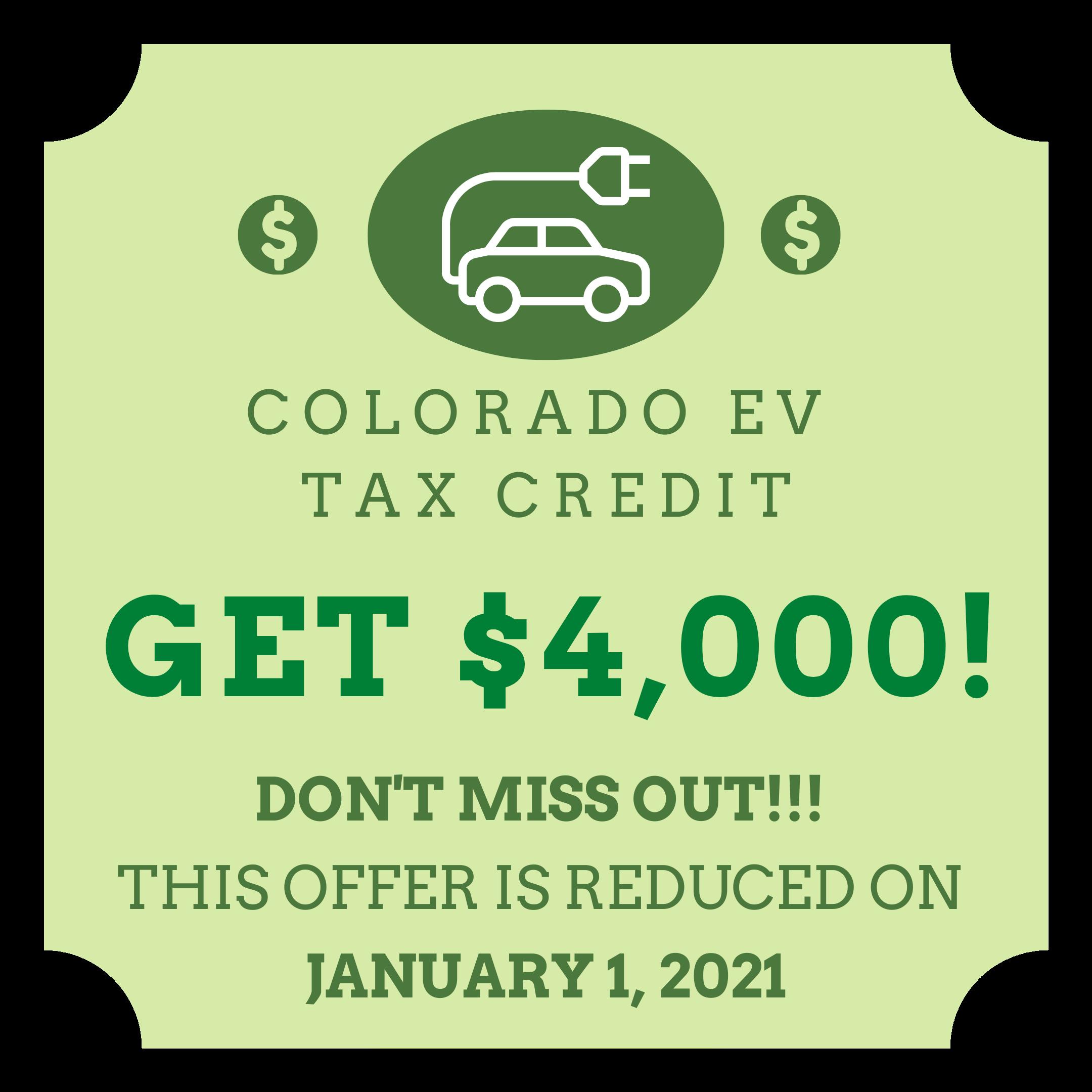 Colorado EV Tax Credit
