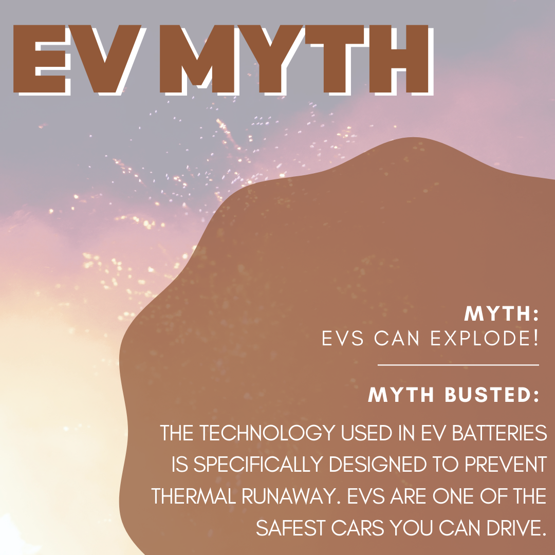 Myth Buster: EVs blow up