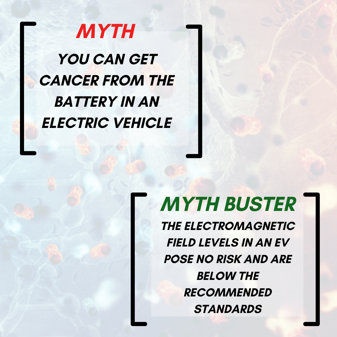 Myth Buster: You Can Get Cancer from the Battery in an EV