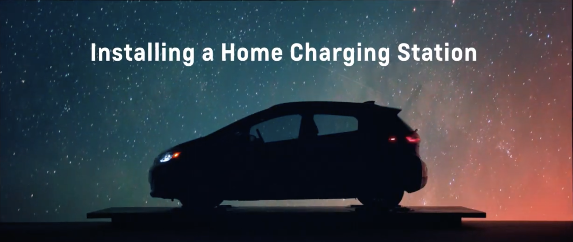Chevy Bolt EV Academy: Installing a Home Charging Station