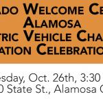 EV DC Fast Charging Station Ribbon Cutting in Alamosa