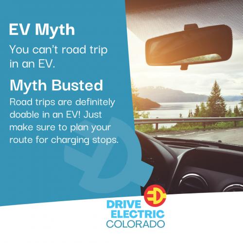 EV Myth - road trip