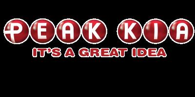test peak kia logo